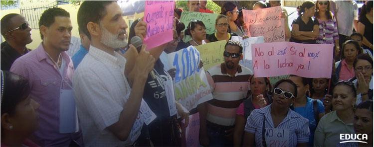 EDUCA rechaza paro de maestros