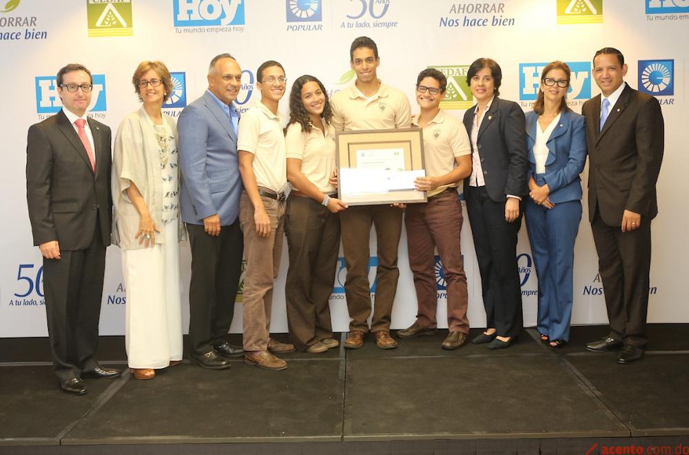 Banco Popular premia a centros escolares con mayor conciencia ambiental