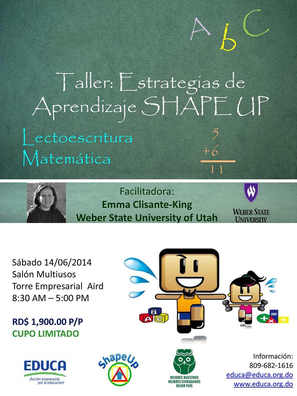 Taller-Estrategias-de-Aprendizaje-SHAPE-UP