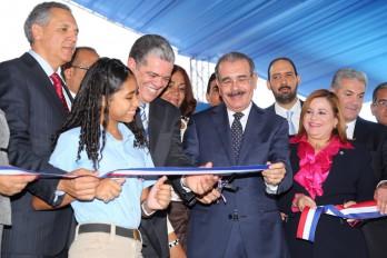 Danilo entrega 156 aulas escolares en San Juan de la Maguana