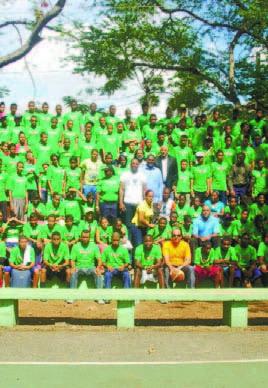 Más de 511 jóvenes inician Campamento