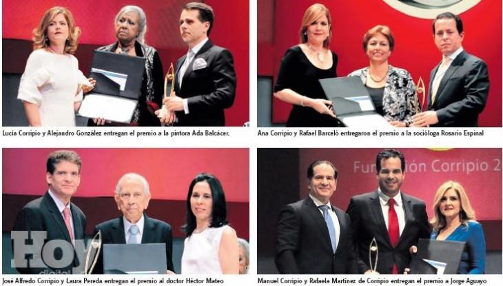 Entregan Premios Fundación Corripio 2014; reconocen talento