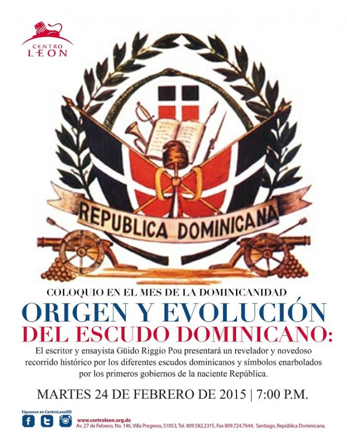 Coloquio sobre escudos y símbolos patrios por mes de la dominicanidad