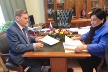 MESCyT firma acuerdo con universidad de Rusia