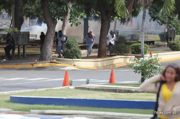 La UASD suspende docencia por  disturbios de estudiantes