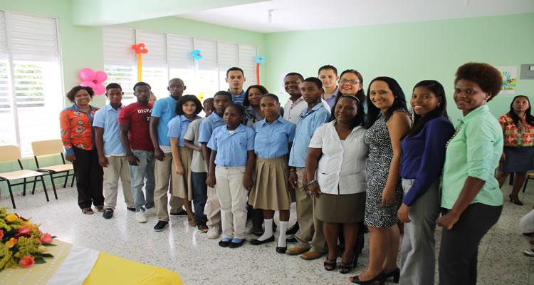 Inauguran en  Haina-Nigua aula  especial para alumnos con discapacidad auditiva