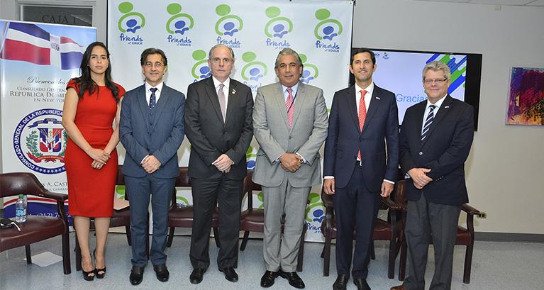 Presentan alianza entre EDUCA, Friends of EDUCA y el Consulado General de la República Dominicana en Nueva York