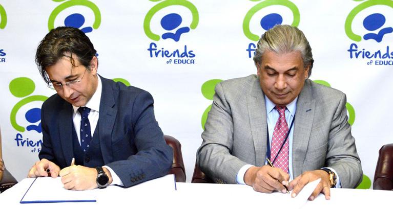 Consulado RD en Nueva York firma acuerdo de colaboración interinstitucional con EDUCA y Friends of Educa